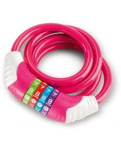 Puky KS Spirallås 120 cm Pink