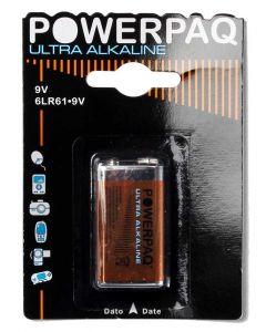 9V Batteri PowerPaq Ultra Alkaline