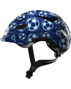 Abus Anuky Cykelhjelm Blue Soccer M 52-57 cm