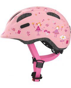 Abus Smiley 2.0 Cykelhjelm Rosé Princess 50-55 cm