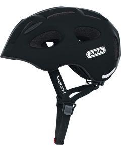 Abus Youn-I Cykelhjelm Velvet Black M 52-57 cm