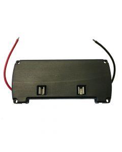 Front panel til batteri