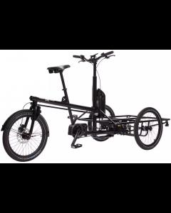 Black Iron Horse The OX CARGO Naked Frame El-Ladcykel Sort