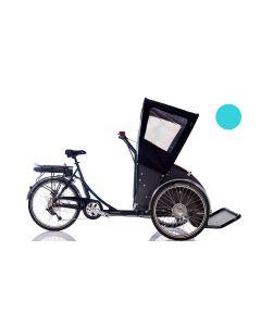 Christiania Taxa Kaleche Rød - T Model