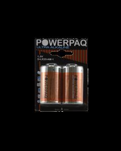 D Batterier PowerPaq Ultra Alkaline LR14 - 1,5V