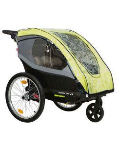 Nordic Cab Ative & Urban regnslag for cykeltrailer
