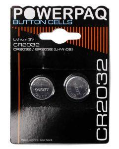 PowerPaq Ultra Alkaline 2032 Batterier 3V