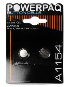 PowerPaq Ultra Alkaline LR 44 Batterier 1,5V