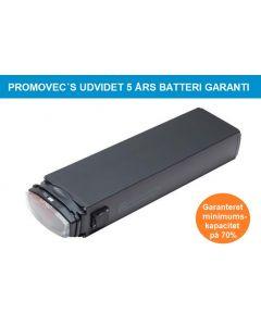 Promovec's udvidet 5 års batteri garanti