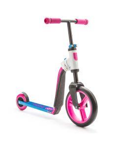 Scoot and Ride HighwayBuddy 2 i 1 Pink/blå