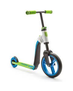 Scoot and Ride HighwayBuddy 2 i 1 Blå/grøn