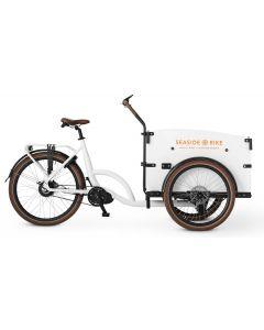 Seaside bike Hvid auto