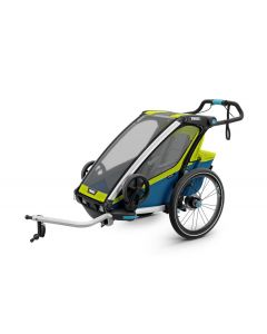 Thule Chariot Sport 1 - Chartreuse/Mykonos