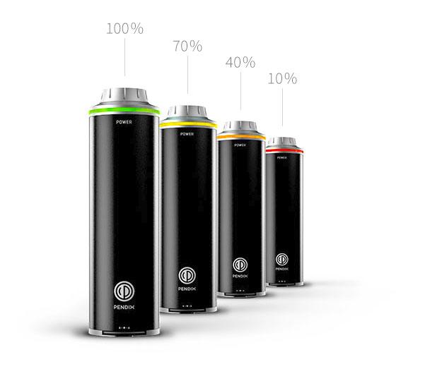 pendix batteri indokator