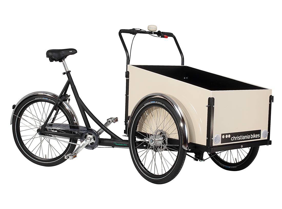 Christiania bike med creme kasse